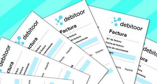 tipos de modelo de factura debitoor programa de facturación