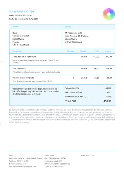 programa de facturación y contabilidad online debitoor